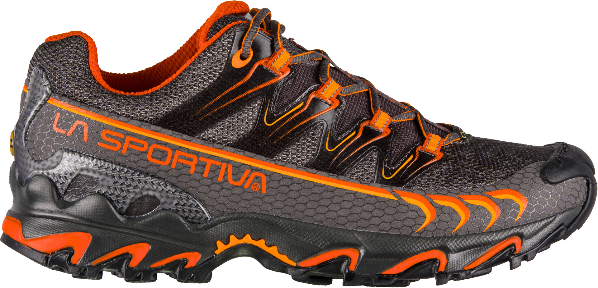 La Sportiva Ultra Raptor GTX Running Shoes Herre carbonpumpkin